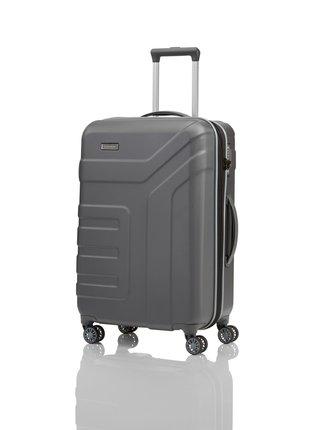 Cestovní kufr Travelite Vector 4w M Anthracite