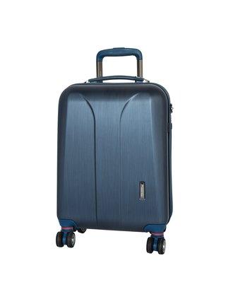 Cestovní kufr March New Carat S Navy brushed