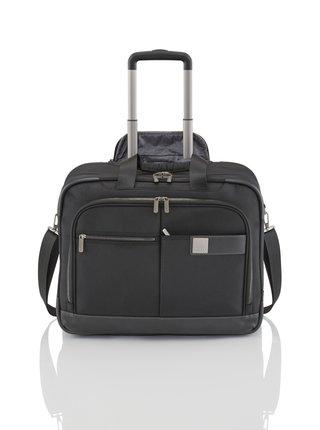 Cestovní kufr Titan Power Pack 2w Business Wheeler Black