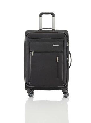 Sada cestovních kufrů Travelite Capri 4w S,M,L Black – sada 3 kufrů + BB