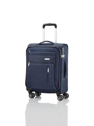 Sada cestovních kufrů Travelite Capri 4w S,M,L Navy – sada 3 kufrů + BB