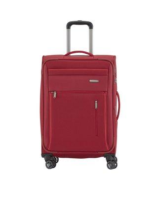 Cestovní kufr Travelite Capri 4w M Red