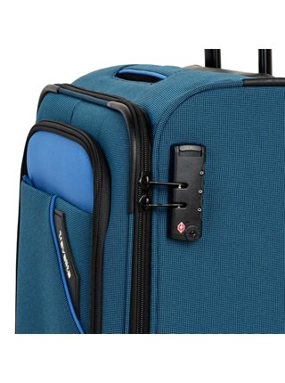 Cestovní kufr Travelite Derby 4w S Blue