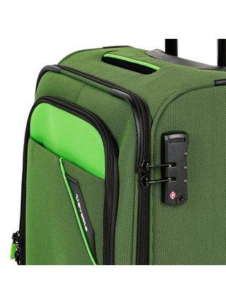 Cestovní kufr Travelite Derby 4w S Green