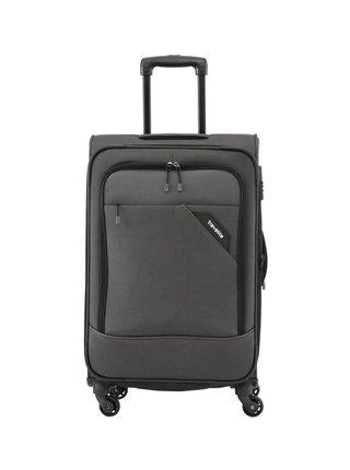 Cestovní kufr Travelite Derby 4w M Anthracite