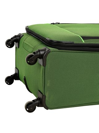 Cestovní kufr Travelite Derby 4w M Green