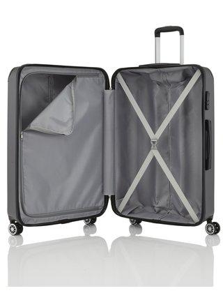 Sada cestovních kufrů Travelite City 4w S,M,L Anthracite – sada 3 kufrů