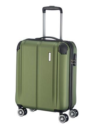 Cestovní kufr Travelite City 4w S Green