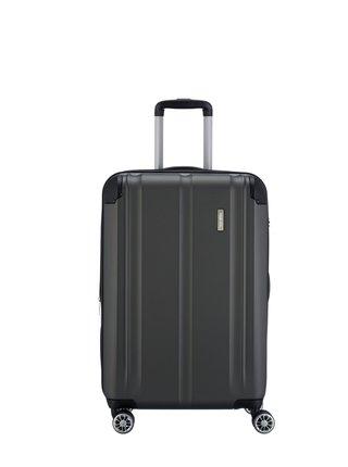 Cestovní kufr Travelite City 4w M Anthracite