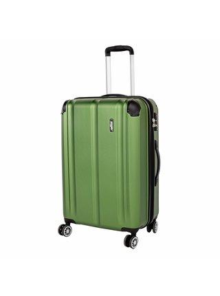 Cestovní kufr Travelite City 4w M Green