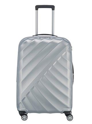Cestovní kufr Titan Shooting Star 4w M Silver