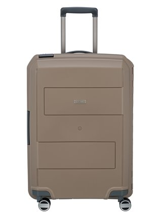 Cestovní kufr Travelite Makro 4w M Taupe