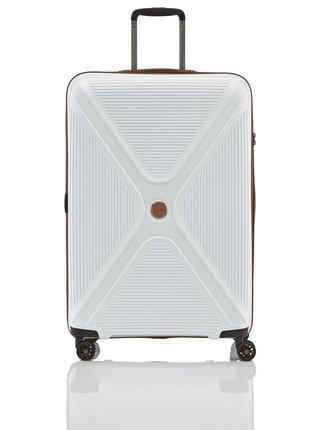 Sada cestovních kufrů Titan Paradoxx 4w S,M,L White – sada 3 kufrů