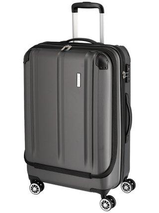 Cestovní kufr Travelite City 4w Business wheeler M Anthracite
