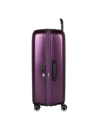 Cestovní kufr March Beau Monde L Purple metallic