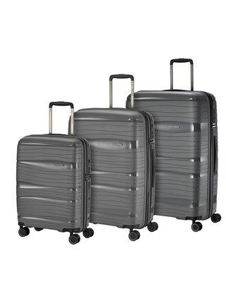 Sada cestovních kufrů Travelite Motion S,M,L Anthracite – sada 3 kufrů