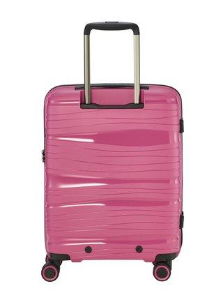 Cestovní kufr Travelite Motion S Front pocket Rose