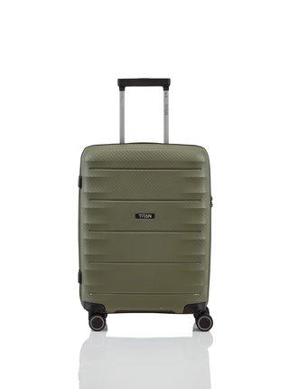 Cestovní kufr Titan Highlight 4w S Khaki