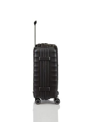 Cestovní kufr Titan Highlight 4w S Front pocket Black