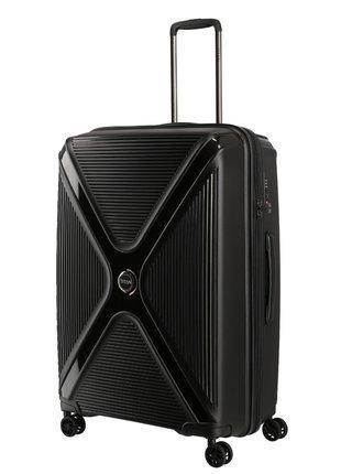 Sada cestovních kufrů Titan Paradoxx 4w S,M,L Black Uni – sada 3 kufrů