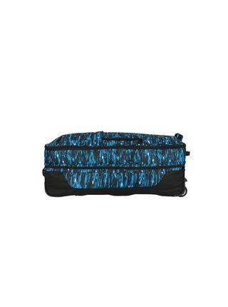 Cestovní taška Travelite Basics Doubledecker Blue print
