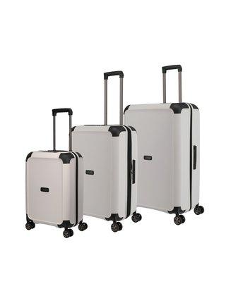 Sada cestovních kufrů Titan Compax 4w S,M,L White