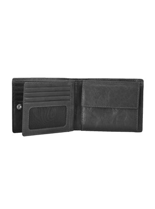 Peněženka Strellson Jefferson Billfold H8 Black