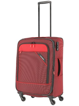 Cestovní kufr Travelite Derby 4w M Red