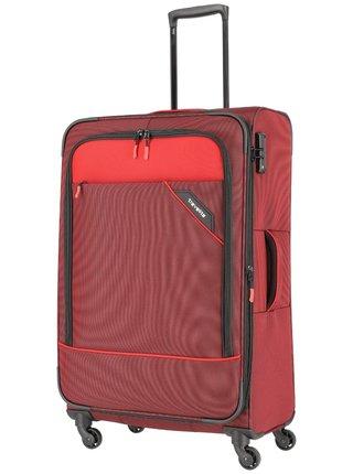Cestovní kufr Travelite Derby 4w L Red