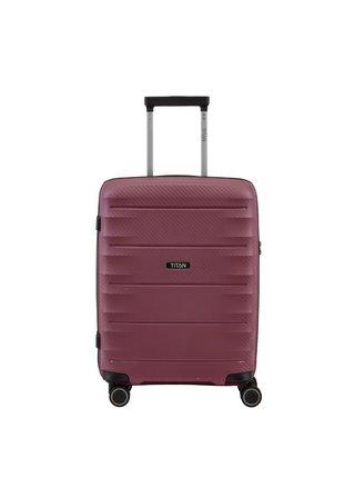 Cestovní kufr Titan Highlight 4w S Merlot