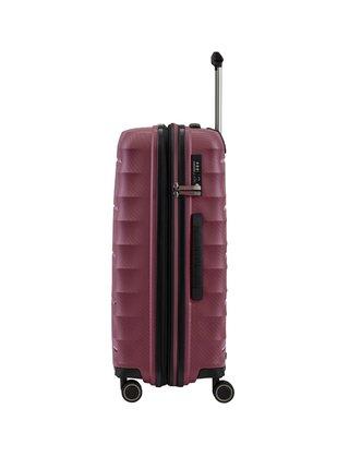 Cestovní kufr Titan Highlight 4w M Merlot