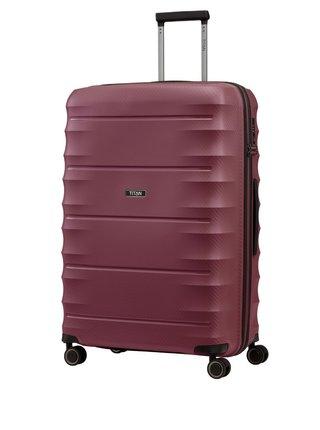 Cestovní kufr Titan Highlight 4w L Merlot