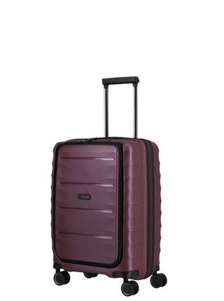 Cestovní kufr Titan Highlight 4w S Front pocket Merlot