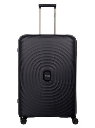 Sada cestovních kufrů Titan Looping S,M,L Black – sada 3 kufrů