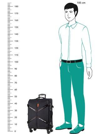 Cestovní kufr March Exploration S Black