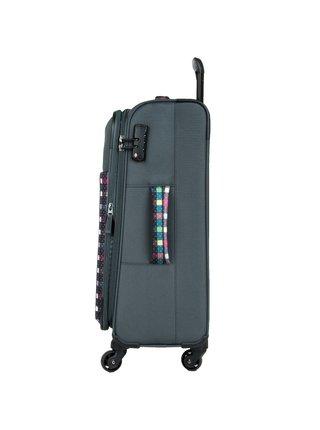 Cestovní kufr Travelite Argon L Checked Pattern