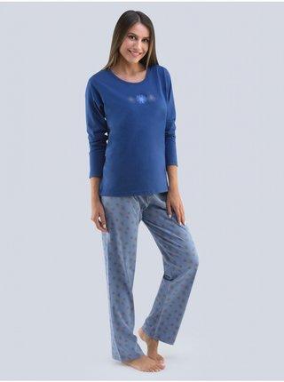 Dámské pyžamo Gina tmavě modré