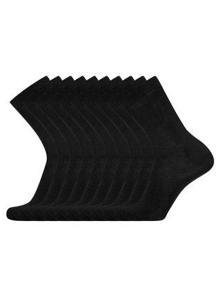 Ponožky bavlnené (sada 10 párov) OODJI