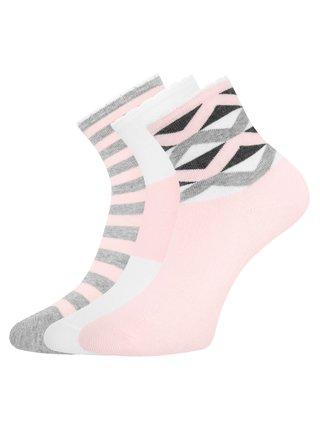 Ponožky bavlněné (sada 3 párů) OODJI