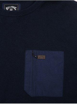Billabong TERRY NAVY svetr pánský - modrá
