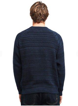 Billabong BROKE NAVY HEATHER svetr pánský - modrá