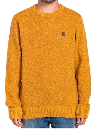 Element KAYDEN OLD GOLD svetr pánský - žlutá