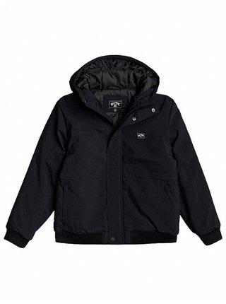 Billabong ALL DAY BLACK HEATHER zimní dětská bunda - černá