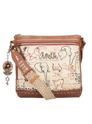 Anekke béžová kabelka Safari Fusion