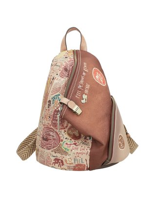 Anekke hnedé ruksak Kenya