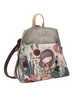Anekke farebné ruksak Ixchel Music