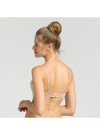 DIM WIREFREE STRAPLESS BRA - Dámská podprsenka s odnímatelnými ramínky - tělová
