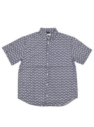 Element GLASTONBURY BLUE MAPLE košile pro muže krátký rukáv - černá