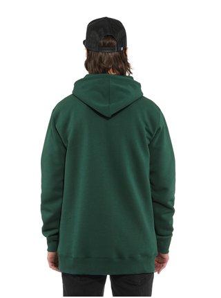 Horsefeathers LEADER bistro green mikiny přes hlavu pánská - zelená