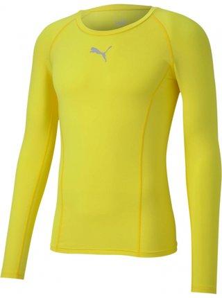 Pánské sportovní tričko Puma žluté